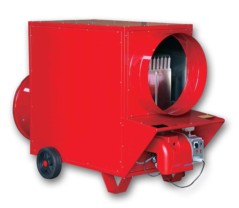 Noleggio generatori di aria calda industriali