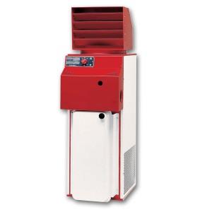 Generatore aria calda Vertical per noleggio riscaldamento