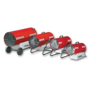 Generatori aria calda a gas per noleggior riscaldamento