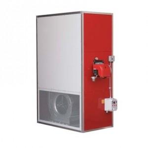 Generatori di aria calda verical industriale per il noleggio riscaldamento